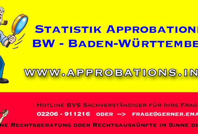 BW Baden-Württemberg Statistik über die Anerkennung von Drittstaaten-Arztdiplomen